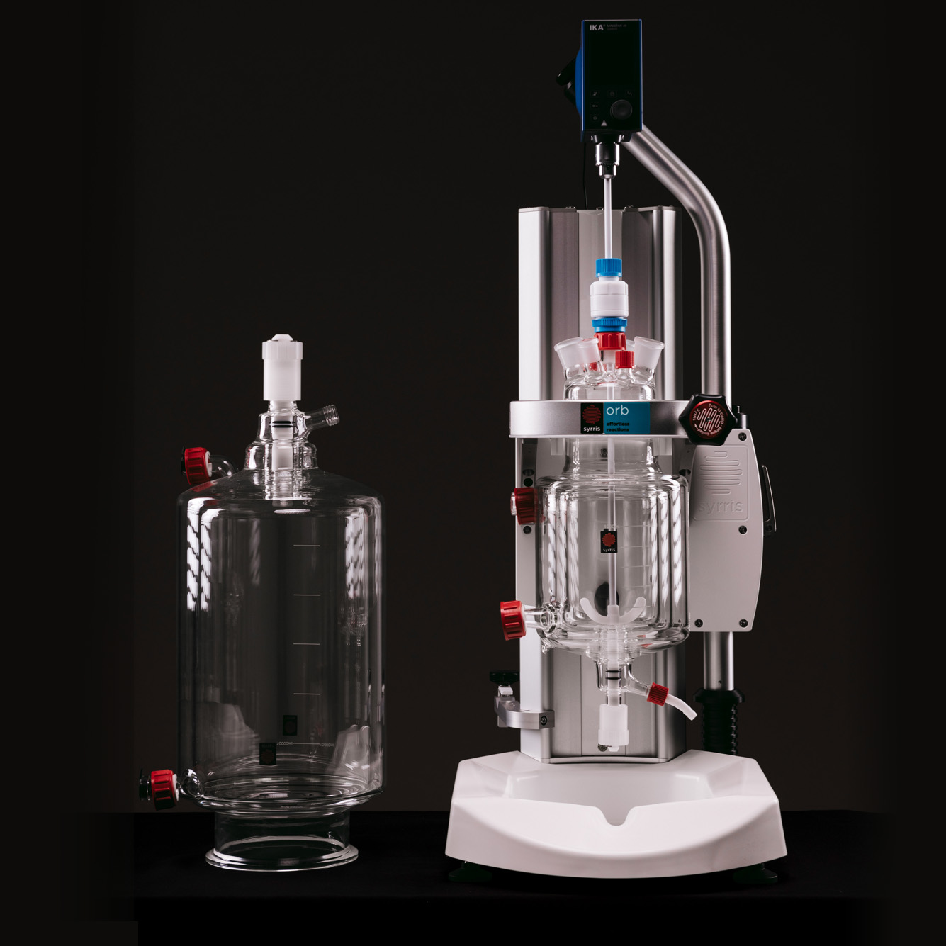 Orb Jacketed Reactor 20 mL to 20 L chemical reactor system