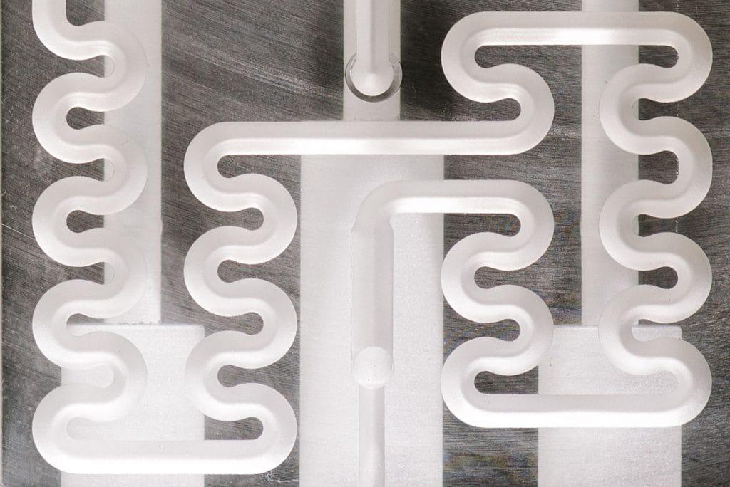 Syrris Titan - RIC Chip Close Up