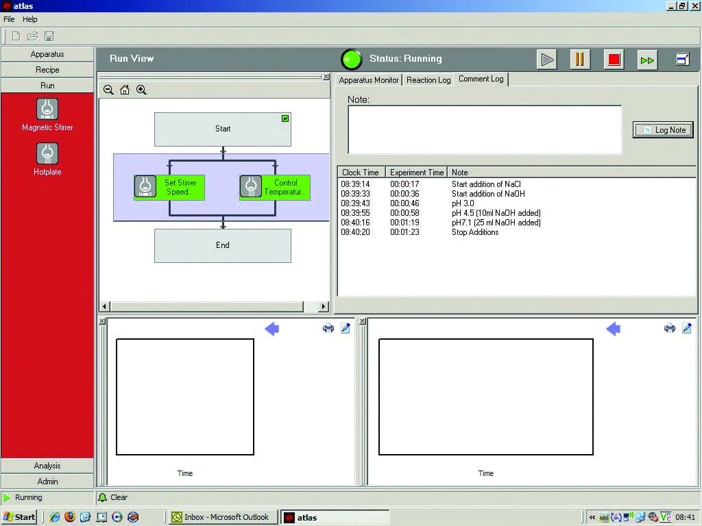 Syrris Atlas PC Software 1 - Screenshot