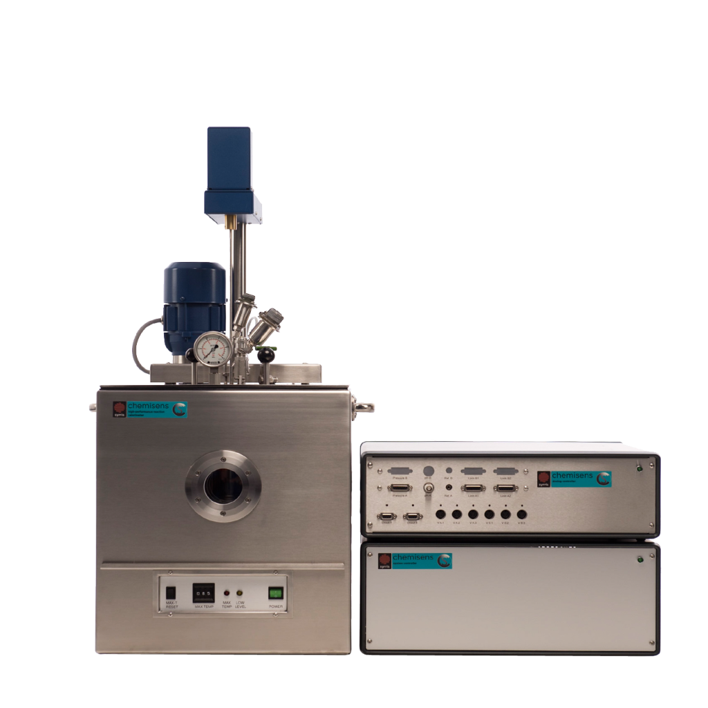 A product photograph of the Syrris Chemisens Reaction Calorimeter