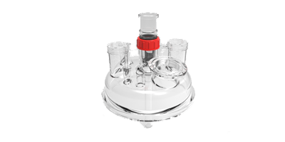 DN235 Glass Lid for Syrris Orb Pilot