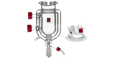 Syrris Atlas jacketed vessels and lids
