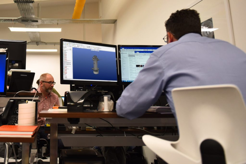 Syrris - CAD in use to develop our products