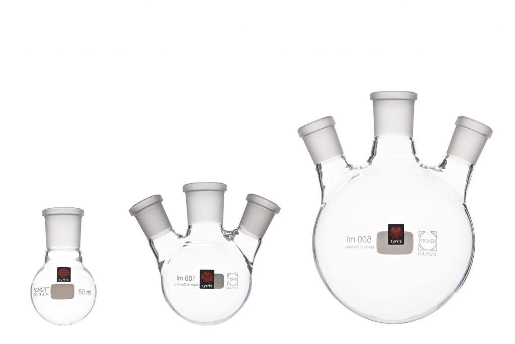 Syrris Atlas Flasks Key feature - wide range