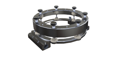 DN235 Clamp for Syrris Orb Pilot