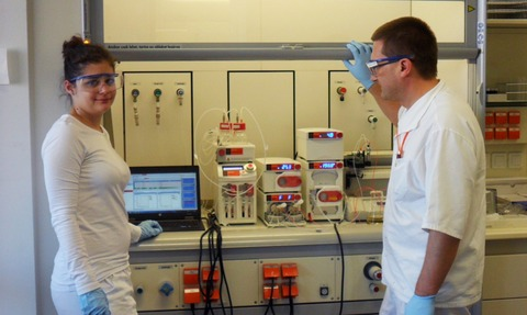 Researchers at Gedeon Richter using Syrris Asia to create new CNS drugs