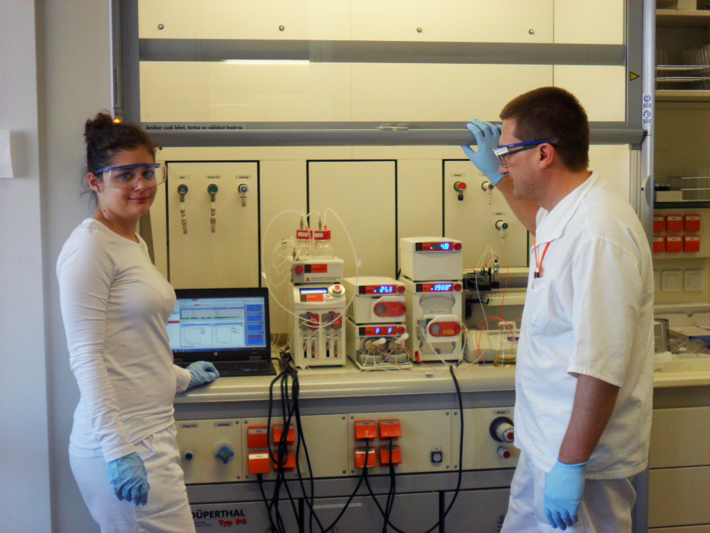 Researchers at Gedeon Richter using Syrris Asia flow chemistry system to create new CNS drugs