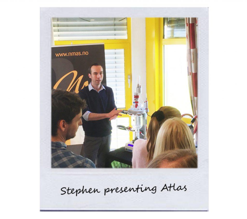 Stephen presenting Atlas
