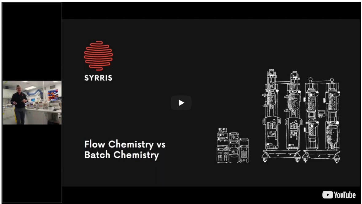 An Introduction to Flow Chemistry and its First Principles - A Syrris Webinar